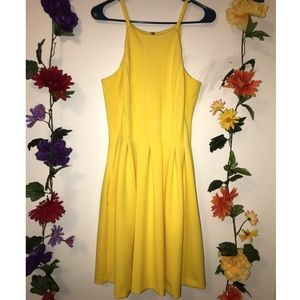 Dresses & Skirts - ✨NWOT YELLOW SKINNY STRAP CALVIN KLEIN DRESS✨